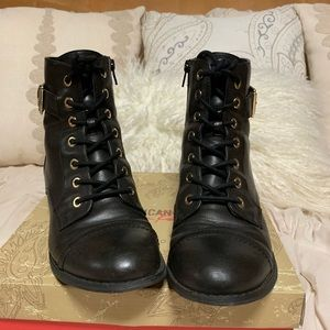 Guess Military Inspired Boots Size 8